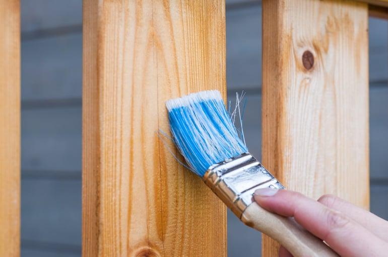 Wood-varnish-brush